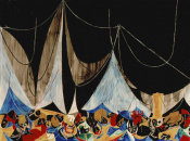 Jacob Lawrence - Marionettes, 1952