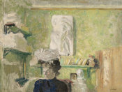 Edouard Vuillard - Woman Before a Plaster Relief, ca. 1900-1904