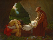 Anne-Louis Girodet - The Funeral of Atala, ca. 1811