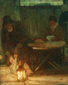 Henry Ossawa Tanner - Etaples Fisher Folk, 1923