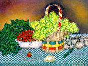 Mattie Lou O'Kelley - Spring Vegetable Scene, 1968