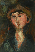 Amedeo Modigliani - Portrait de Beatrice Hastings, 1914