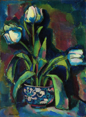 Charles Sheeler - White Tulips, 1912