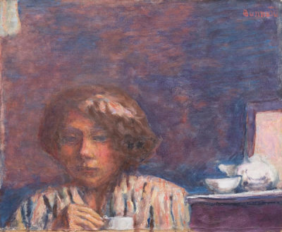 Pierre Bonnard - The Breakfast (Le petit déjeuner), 1922