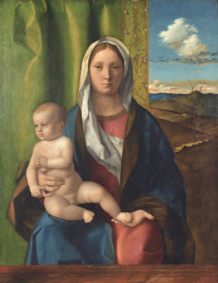 Giovanni Bellini - Madonna and Child, ca. 1510