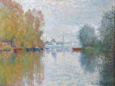 Claude Monet - Autumn on the Seine, Argenteuil, 1873