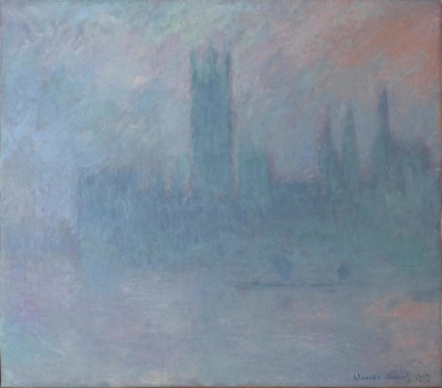 Claude Monet - Houses of Parliament in the Fog, 1903