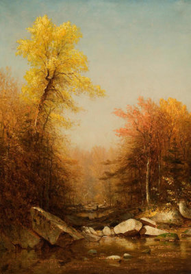 Sanford Robinson Gifford - October in the Catskills, 1879