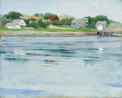 Cecilia Beaux - Half-Tide, Annisquam River, ca. 1905