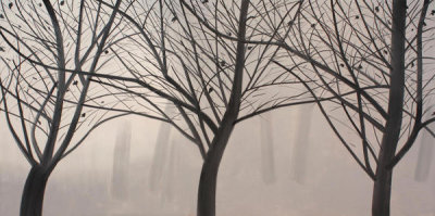 Alex Katz - Winter Landscape 2, 2007