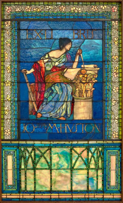 John La Farge - Untitled (Architecture), ca. 1903-1904