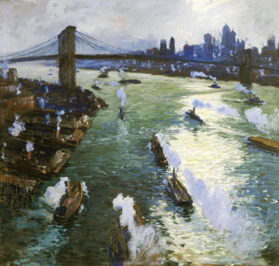 Jonas Lie - Path of Gold, ca. 1914